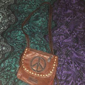 Peace Sign Purse/Bookbag